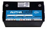 220 Minutes (min) Runtime Alpha® Gel Cell Battery