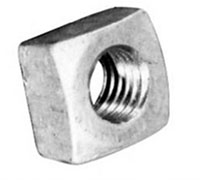 Hubbell Power Systems 5/8 Inch (in) Bolt Size Square Machine Nuts