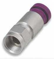 Thomas & Betts 6QS Series Snap-N-Seal RG-6, 1 Piece Connector
