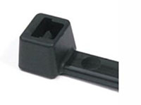 HellermannTyton 4 Inch (in) Length Black Cable Tie