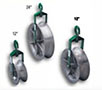 Greenlee® 18 Inch (in) Outside Diameter Cable Hook Pulley