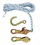 Klein Tools® Block and Tackle with Standard Snap (180230)