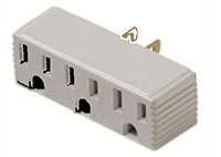 3 Outlet Wall Tap Adapter